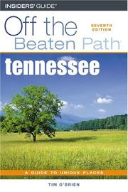 Cover of: Tennessee Off the Beaten Path, 7th