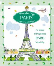 Cover of: Wandering Paris | Jill Butler