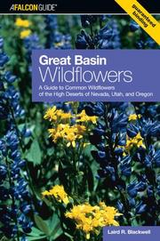 Cover of: Great Basin Wildflowers | Laird R. Blackwell