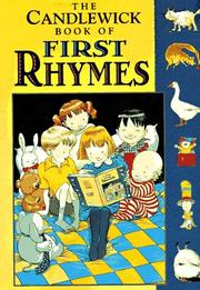 Cover of: The Candlewick book of first rhymes. |
