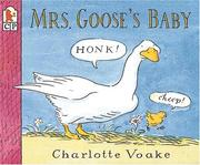 Cover of: Mrs. Goose's baby