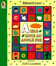 Cover of: A Was Once an Apple Pie