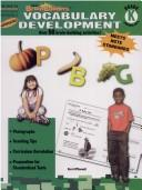 Cover of: Kindergarten-Vocabulary Development (Rosen Brain Builders)