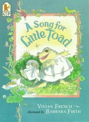 Cover of: Song for Little Toad, A