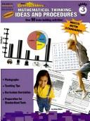 Cover of: Mathematical Thinking Ideas and Procedures, Grade 3 | Arlan Dean