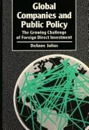 Cover of: Global Companies and Public Policy (Chatham House Papers)