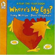 Where's my egg? by Tony Mitton