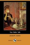 Cover of: Tea table talk