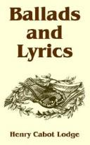 Cover of: Ballads And Lyrics