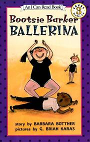 Cover of: Bootsie Barker Ballerina