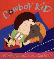 Cover of: Cowboy Kid | Max Eilenberg