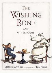 Cover of: The wishing bone and other poems