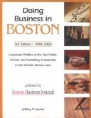 Cover of: Doing Business in Boston