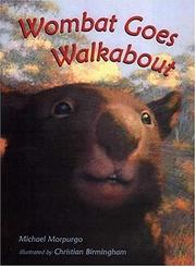 Cover of: Wombat goes walkabout