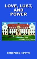 Cover of: LOVE, LUST, AND POWER