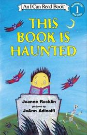 Cover of: This Book Is Haunted (An I Can Read Book, Level 1) | Joanne Rocklin
