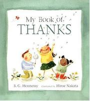 Cover of: My Book of Thanks
