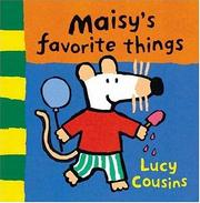 Cover of: Maisy's Favorite Things: Coloring Book