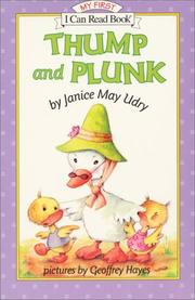 Cover of: Thump and Plunk (My First I Can Read)