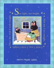 Cover of: Mother Goose Photo Frame Cards (My Very First Mother Goose) | Candlewick