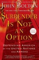 Cover of: Surrender Is Not an Option