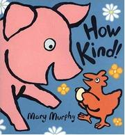 Cover of: How kind!
