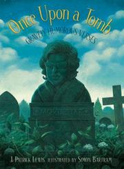Cover of: Once upon a tomb: Gravely Humorous Verses