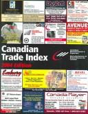 Cover of: Canadian Trade Index 2004 |