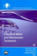 Cover of: Chemical Water and Wastewater Treatment IX |