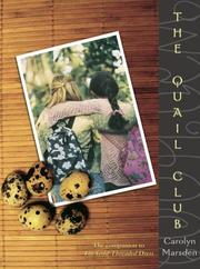 Cover of: The Quail Club | Carolyn Marsden