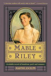 Cover of: Mable Riley | Marthe Jocelyn