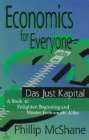 Cover of: Economics for everyone | Philip McShane