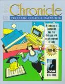 Cover of: Chronicle Two-Year College Databook 1998-99 (Chronicle Two-Year College Databook) |
