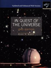 Cover of: In Quest of the Universe, Enhanced Updated Web Version