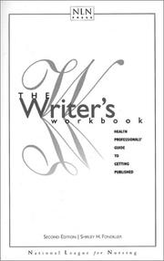 Cover of: Writer's Workbook