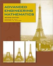 Cover of: Advanced engineering mathematics