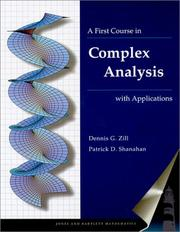 Cover of: A First Course in Complex Analysis