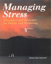 Cover of: Managing Stress | Brian Luke Seaward