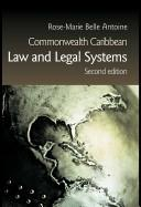 Cover of: Commonwealth Caribbean law and legal systems by Rose-Marie Belle Antoine