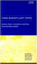 Cover of: Hard Budgets and Soft States