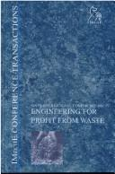 Cover of: Engineering for Profit from Waste VI (Imeche Event Publications)