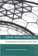 Social Policy Review 14: Developments and Debates  by
