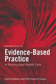 Cover of: Introduction to evidence-based practice in nursing and health care