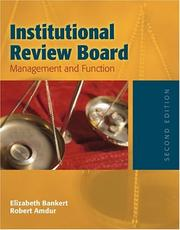 Institutional Review Board by