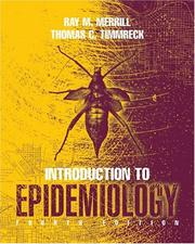 Cover of: Introduction to epidemiology. | Ray M. Merril