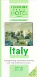 Cover of: Italy (Charming Small Hotel Guides)