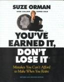 Cover of: You'Ve Earned It, Don't Lose It