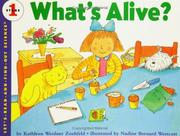 Cover of: What's Alive?