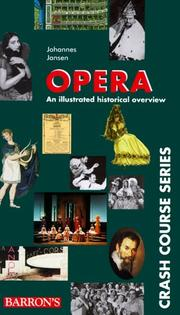 Cover of: Opera | Jansen, Johannes.
