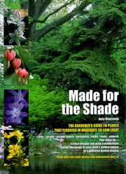 Cover of: Made for the shade | Judy Glattstein
